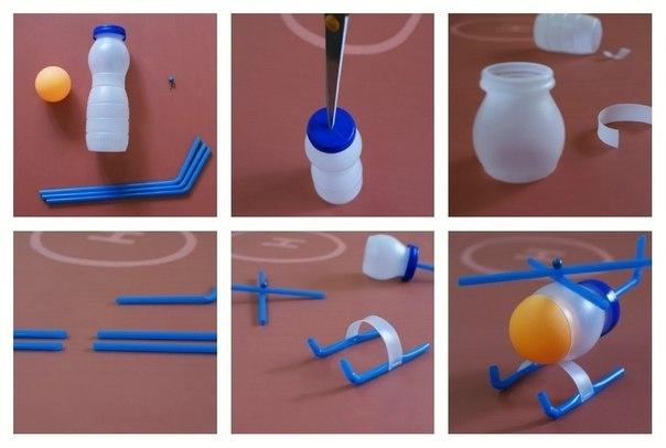 Что сделать из бутылки йогурта своими руками